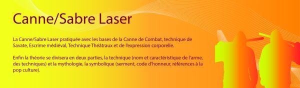Section Canne Sabre Laser