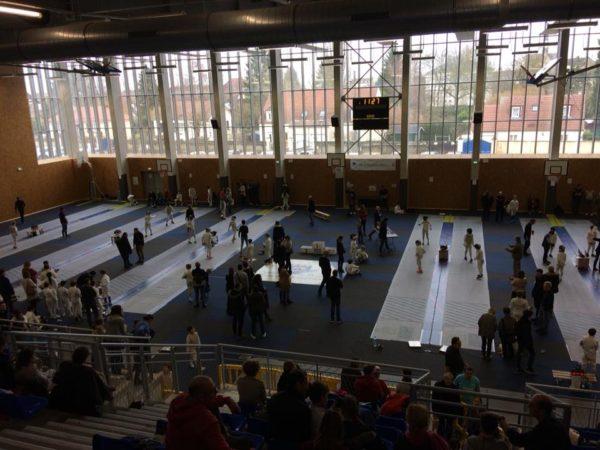 Compétition Escrime Pont Sainte Maxence 11 02 2018